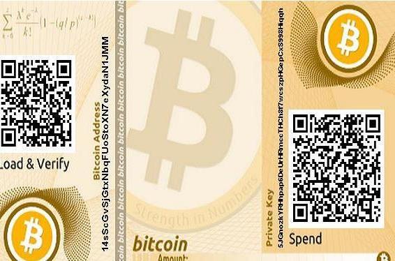 Bitcoin wallet.