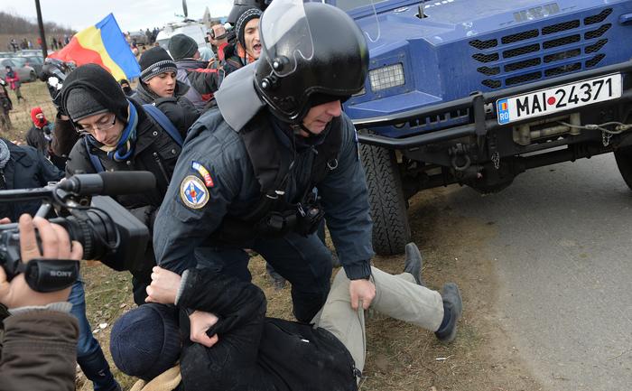 Proteste Pungeşti