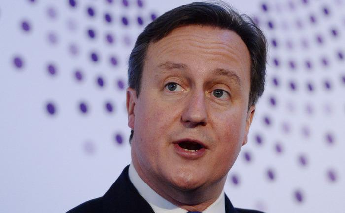 Premierul britanic David Cameron.