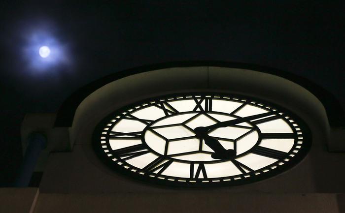 WELLINGTON, NOUA ZEELANDĂ, ceasul Petone.