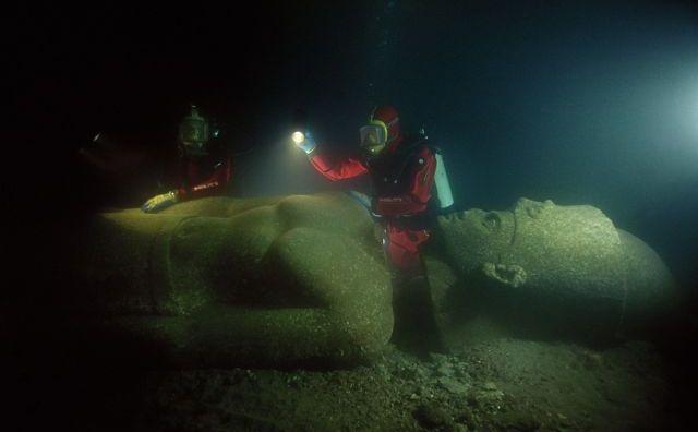 Heracleion, un oraş antic descoperit sub ape Mării Mediterane