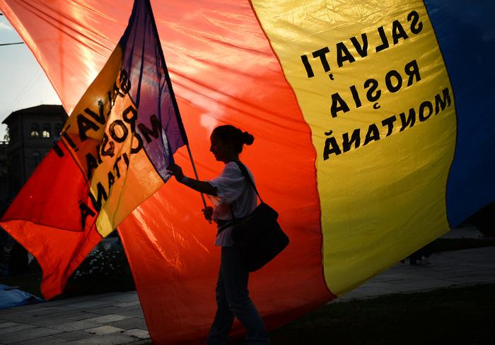 Proteste împotriva exploatării de la Roşia Montana, 8 septembrie 2013