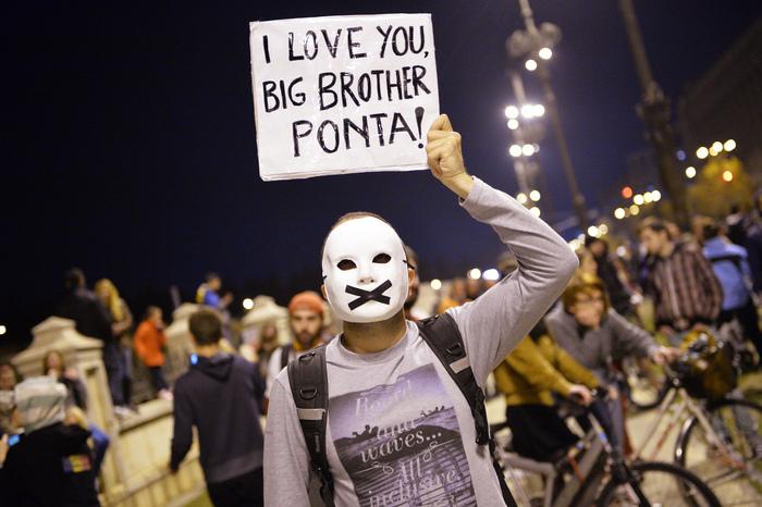 Proteste împotriva exploatării de la Roşia Montana, 20 octombrie 2013