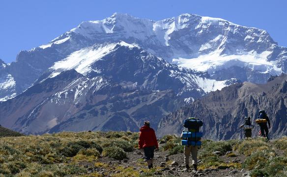 Argentina: Vârful Aconcagua