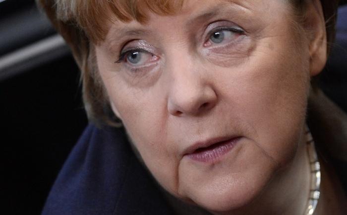 Cancelarul german Angela Merkel, decembrie 2013
