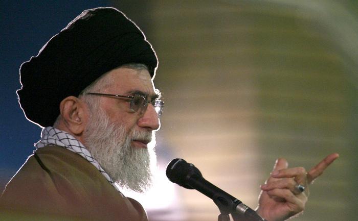 Liderul suprem iranian, ayatollahul Ali Khamenei.