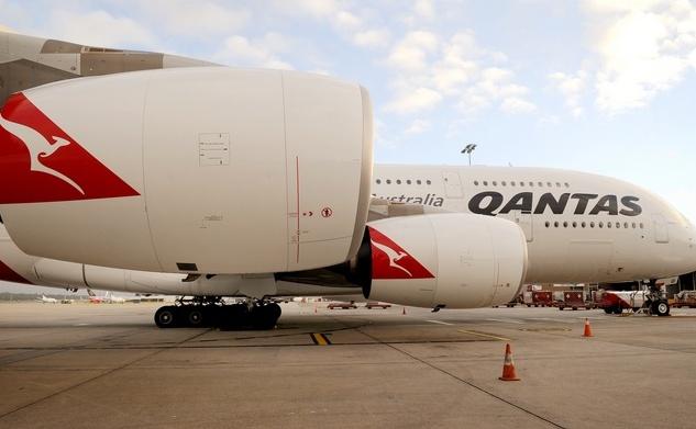 Compania Qantas: A380 Airbus