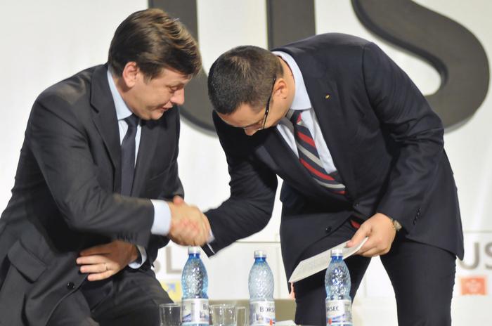 Crin Antonescu şi Victor Ponta