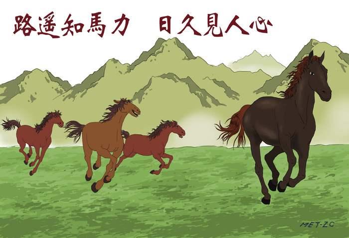 Un drum lung, poate verifica puterea unui cal şi timpul poate dovedi natura inimii unei persoane
