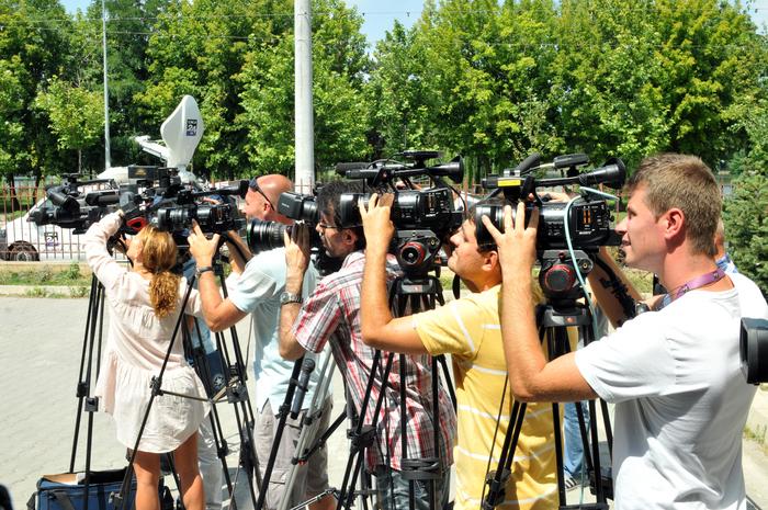 Presa, jurnalişti de teren, ziarişti