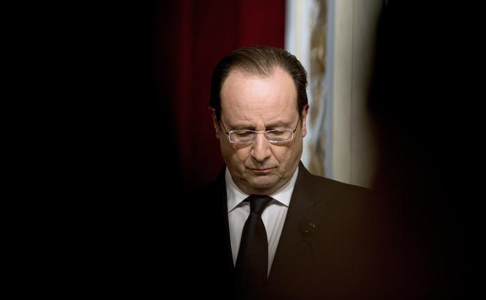 Preşedintele francez Francois Hollande.