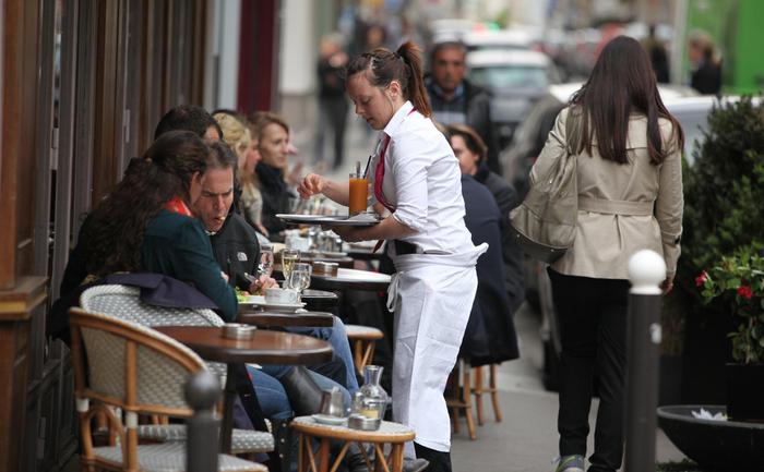 Masa unui local din Paris