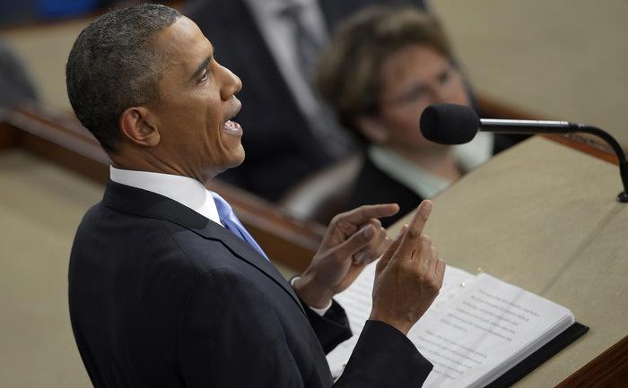 Preşedintele SUA, Barack Obama.