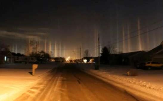 Luminile stranii din Ohio, SUA