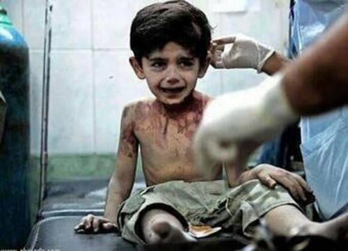"""Copil sirian de trei ani """"Am să spun totul lui Dumnezeu!"""""""