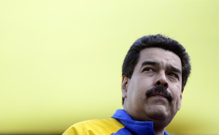 Preşedintele Venezuelei, Nicolas Maduro.