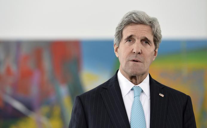 Secretarul american de stat John Kerry.