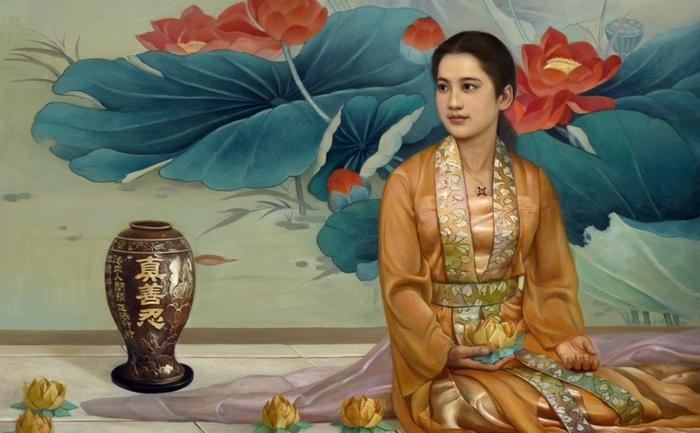 """""""După paradă"""" – tablou din Expoziţia Internaţională de Artă """"Adevăr – Compasiune – Toleranţă """", (Xiqiang Dong)"""