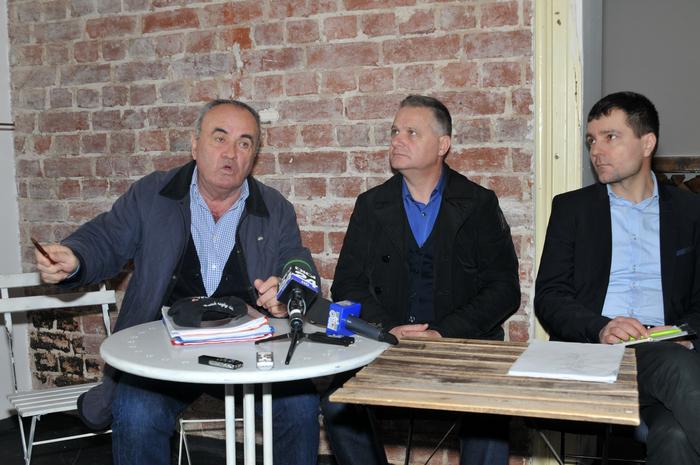 """Conferinţa de presă, """" Salvaţi Dămăroaia şi Bucureştii Noi """""""