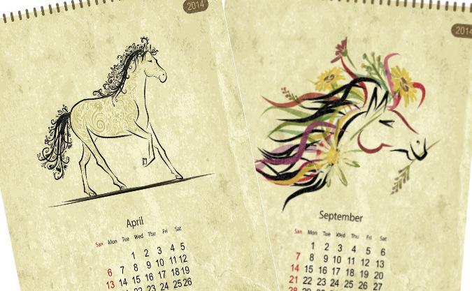 Anul Calului după calendarul lunar.
