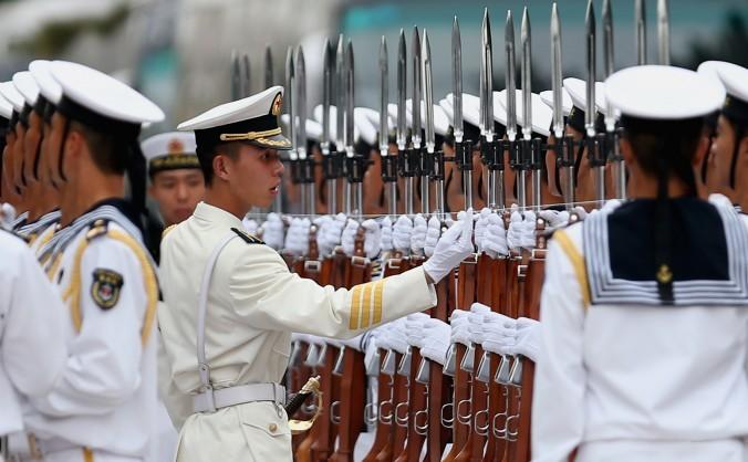 Marina militară în Beijing, 16 septembrie 2013