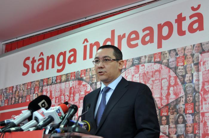 Victor Ponta, preşedinte PSD