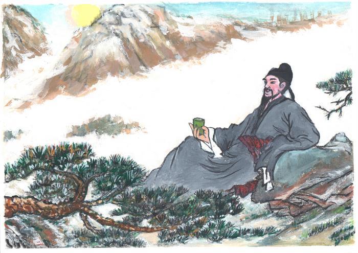Li Bai, Maestru în arta poetică
