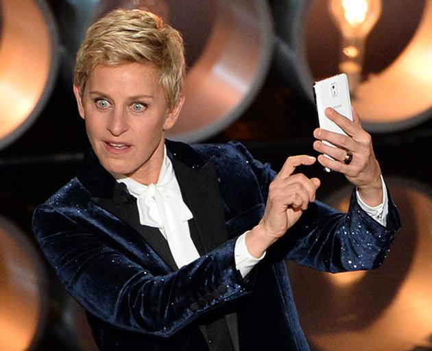Selfie-ul Ellenei DeGeneres la Oscar 2014.