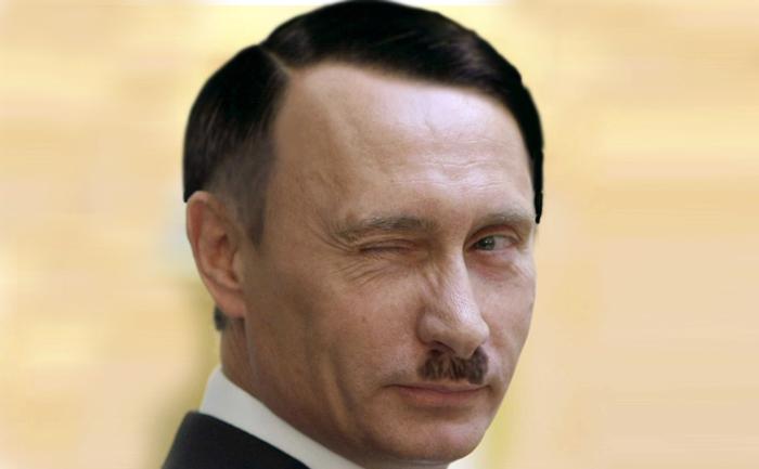 Pamflet, preşedintele rus Vladimir Putin