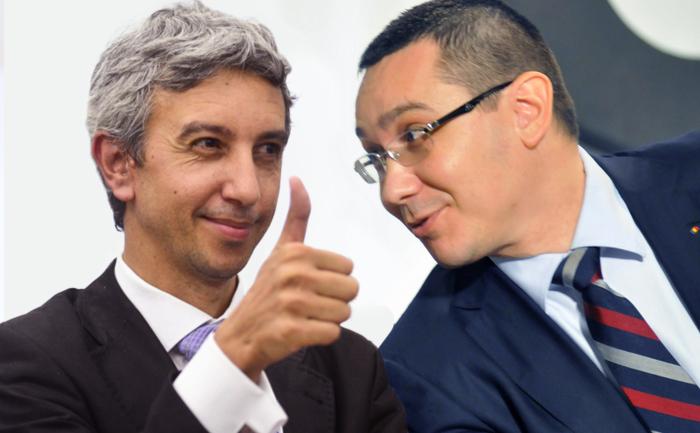 Dan Diaconescu vs Victor Ponta