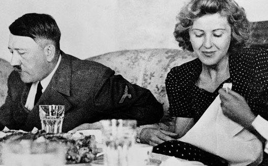 Adolf Hitler şi Eva Braun