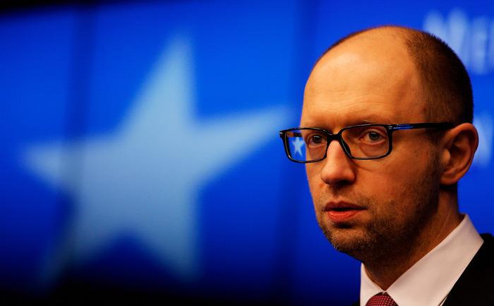Premierul Ucrainei, Arseni Iaţeniuk.