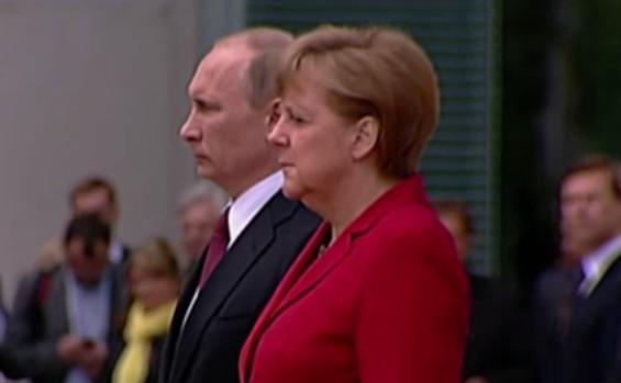 Merkel şi Putin la Berlin.