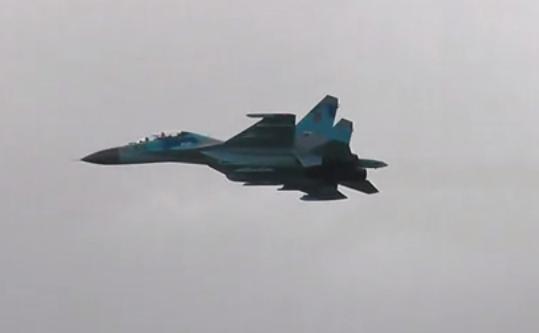 Avionul SU-27UB .
