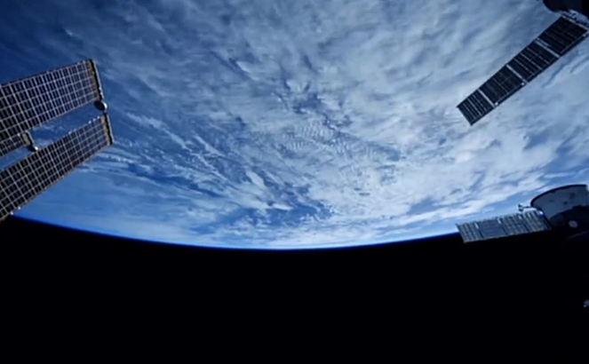 Planeta Pământ văzută din spaţiu.
