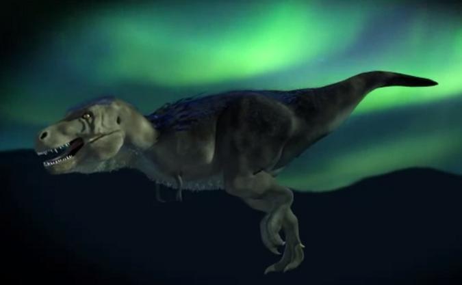 Nanuqsaurus Hoglundi, reprezentare virtuală.