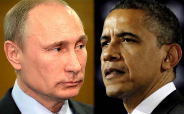 Putin versus Obama.