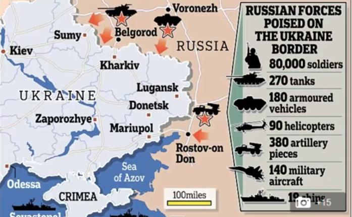 Armata rusă de la graniţa cu Ucraina.