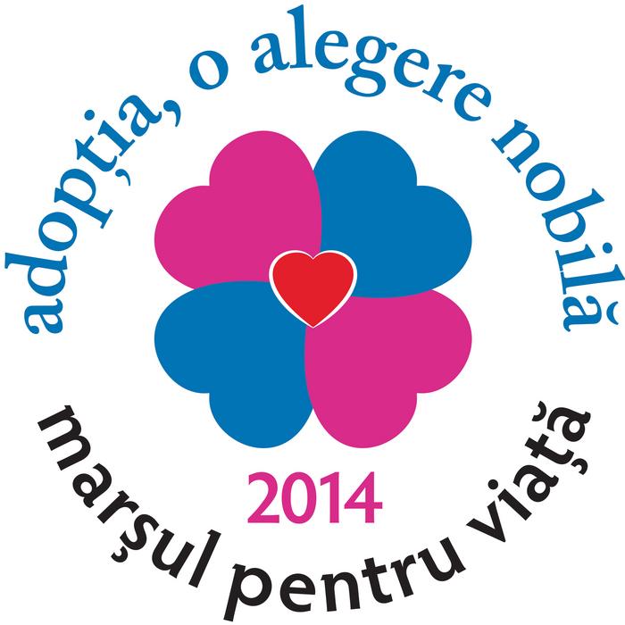 Logo-ul marşului pentru Viaţă