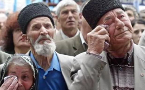 Tătarii din Crimeea.