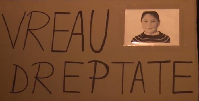 Marian Furcelea, copilul mort la vârsta de nouă ani, în uma unei intoxicaţii cu gaze, lângă o sondă OMV - Petrom.