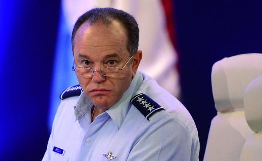 Generalul Philip Mark Breedlove, comandantul NATO pentru Europa, 14 septembrie 2013 Budapesta