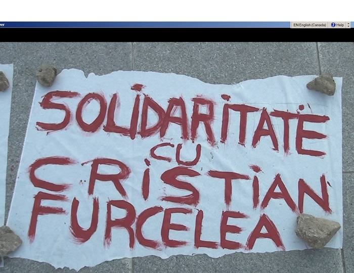 Miting de solidaritate cu familia Furcelea.