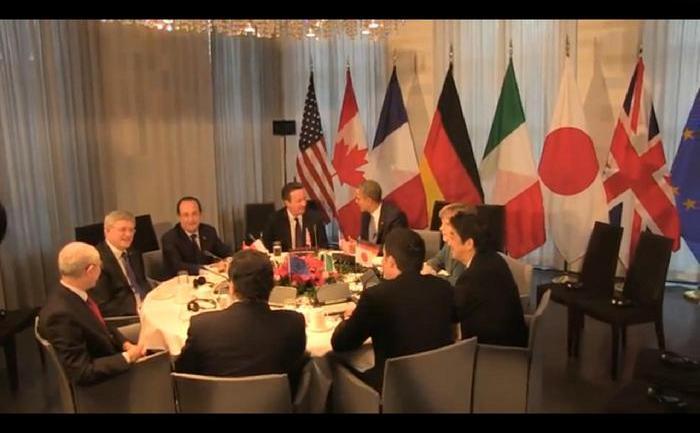 Criza ucraineană s-a aflat luni în centrul reuniunii G7 şi al Summitului Securităţii Nucleare.