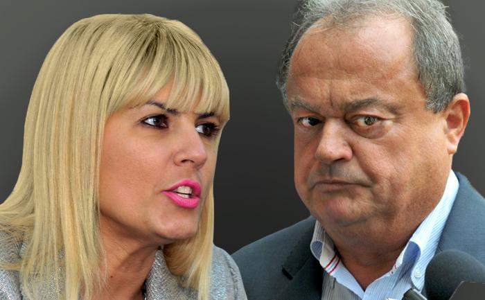 Elena Udrea şi Vasile Blaga