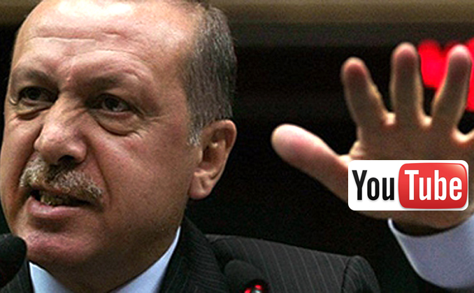 Erdogan închide youtube