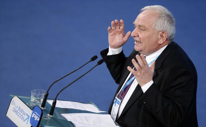 Preşedintele PPE,Joseph Daul, februarie 2014