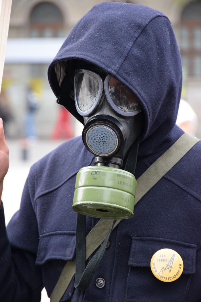 Miting anti fracking, Bucureşti