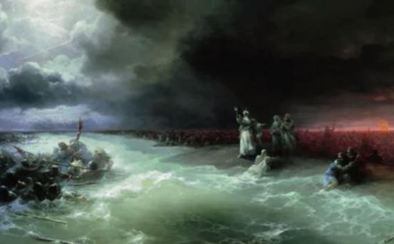 Exodul israeliţilor din Egipt.