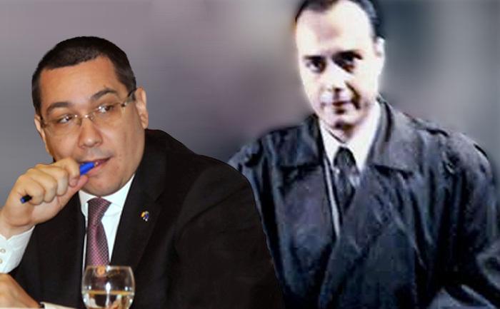 Premierul Victor Ponta şi procurorul Cristian Panait